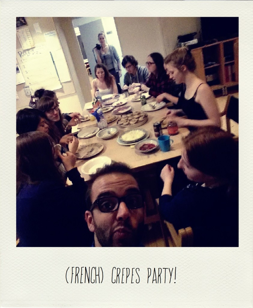 (French) Crepes Party