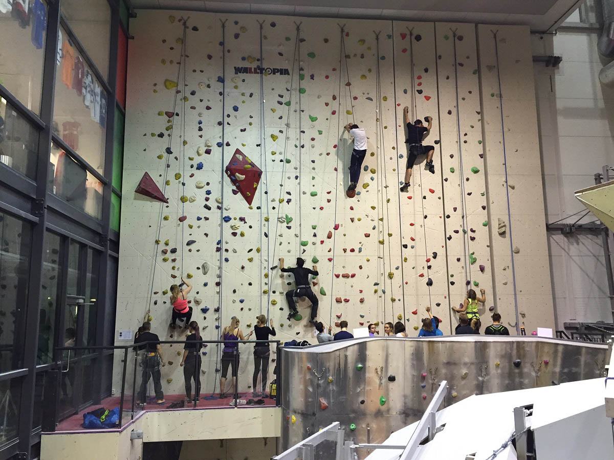 Climbing: It is essential that safety is taken care of